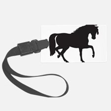 Horse silhouette clip art Luggage Tag