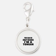 Tongan Designs Silver Round Charm