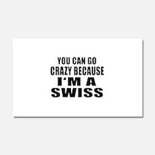 Swiss Designs Car Magnet 20 x 12