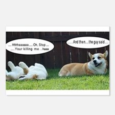 Laughing Corgis Postcards (Package of 8)