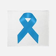 Light Dodger Blue (Dysautonomia) Awa Throw Blanket