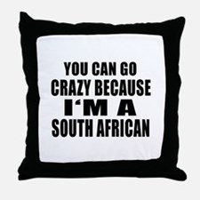 South African Designs Throw Pillow