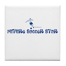 FUTURE SOCCER STAR Tile Coaster