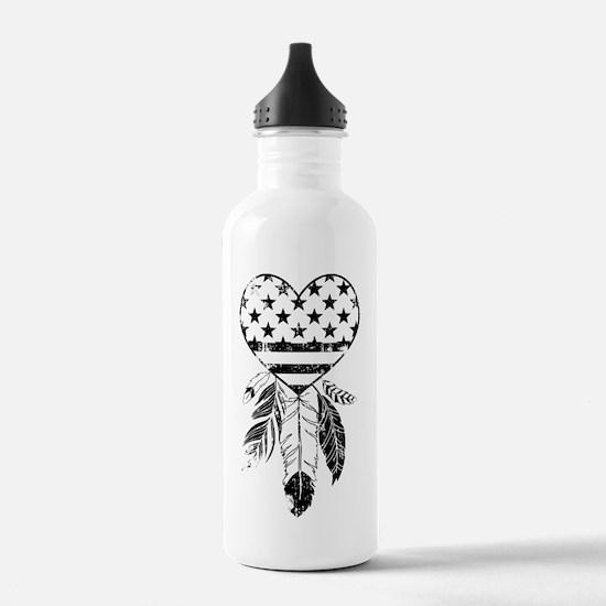 American Dreamcatcher Water Bottle