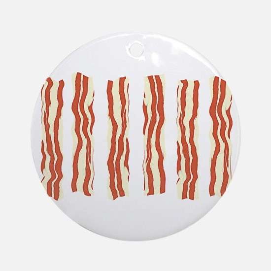 Bacon Ornament (Round)