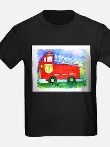 Kids Stuff - Fire Truck #5 Kids T-Shirt