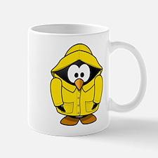 Penguin in the rain Mugs