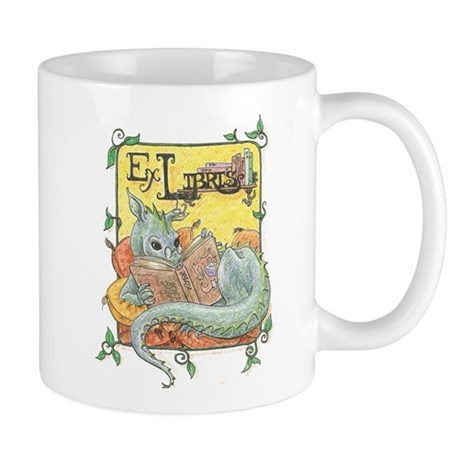 Dragon Reader Mug