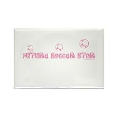 FUTURE SOCCER STAR Rectangle Magnet (10 pack)