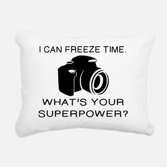 Unique Camera Rectangular Canvas Pillow