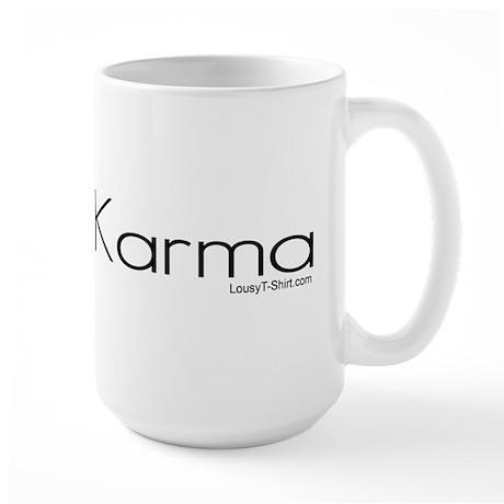 Instant Karma Large Mug