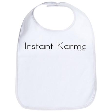 Instant Karma Bib