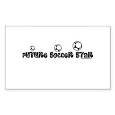 FUTURE SOCCER STAR Rectangle Decal