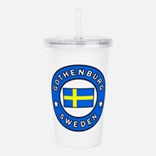 Gothenburg Sweden Acrylic Double-wall Tumbler