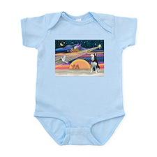 XmasStar/Siberian Husky Infant Bodysuit