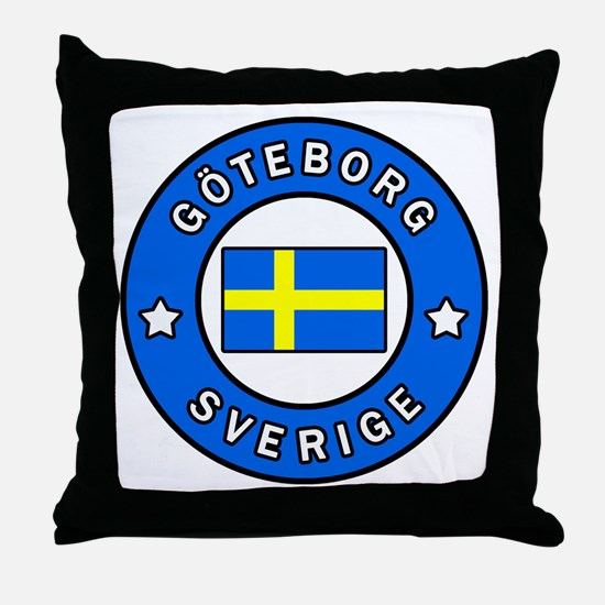 Funny Northern europe Throw Pillow