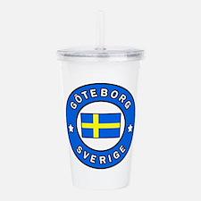 Goteborg Sverige Acrylic Double-wall Tumbler