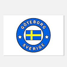 Goteborg Sverige Postcards (Package of 8)