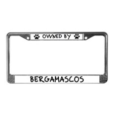 Owned by Bergamascos License Plate Frame