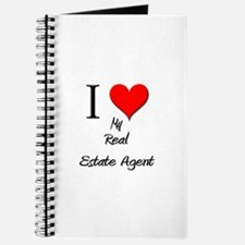 I Love My Real Estate Agent Journal