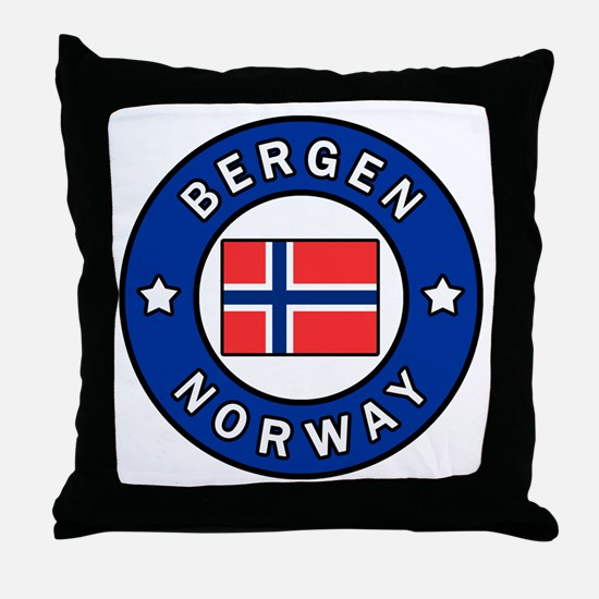 Unique Northern europe Throw Pillow