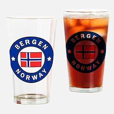 Cute Bergen norway Drinking Glass