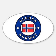 Cute Northern europe Sticker (Oval)