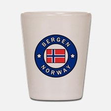Cute Norway Shot Glass