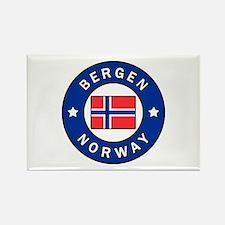 Bergen Norway Magnets