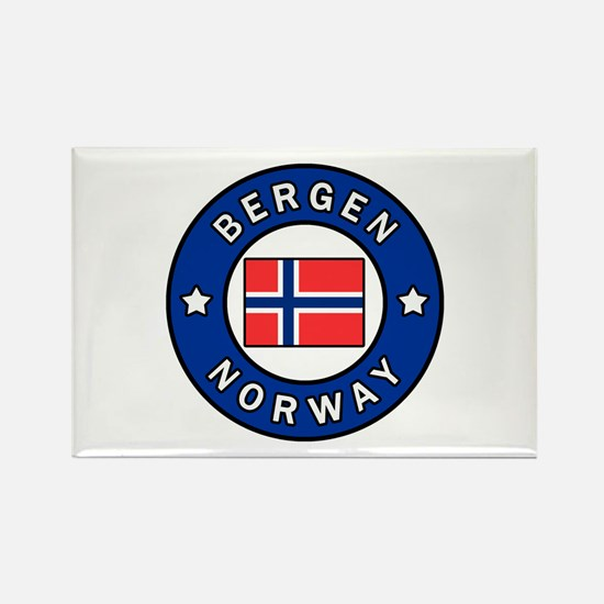 Bergen Norway Magnets