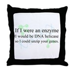 """DNA Helicase"" Throw Pillow"
