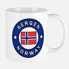 Bergen Norway Mugs