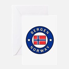 Bergen Norway Greeting Cards