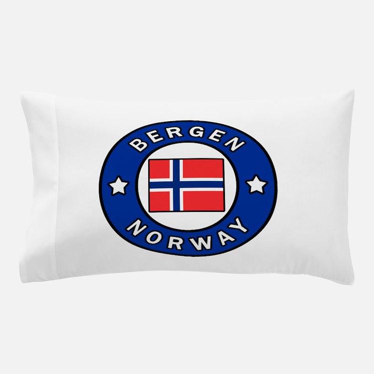 Bergen Norway Pillow Case