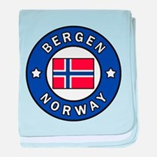 Bergen Norway baby blanket