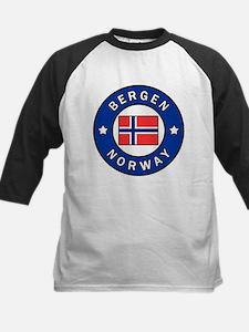 Bergen Norway Baseball Jersey