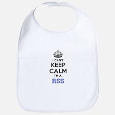 I can't keep calm Im RSS Bib