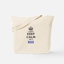 I can't keep calm Im RSS Tote Bag