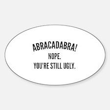 Abracadabra Decal