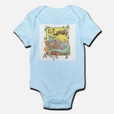 Dragon Reader Infant Bodysuit