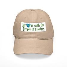 Darfur Heart 2 Baseball Cap