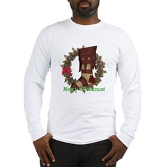 Christmas Stocking Long Sleeve T-Shirt