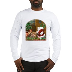 Praying Santa Long Sleeve T-Shirt