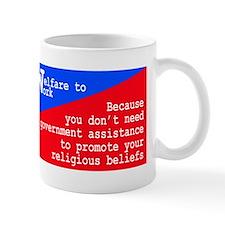 Funny Welfare state Mug