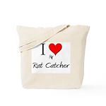 I Love My Rat Catcher Tote Bag
