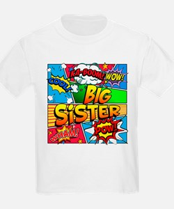 Big Sister Comic Book T-Shirt