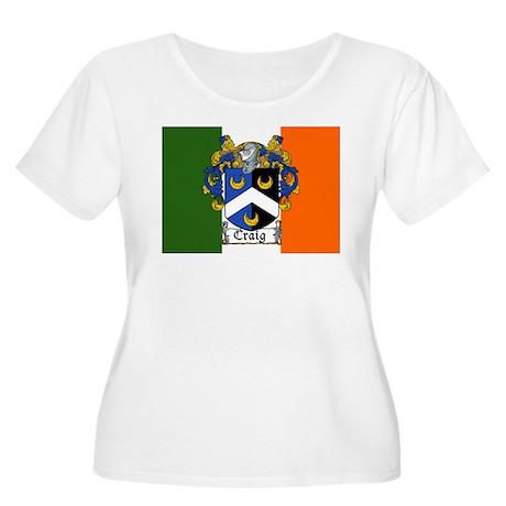 Craig Arms Irish Flag Women's Plus Size Scoop Neck