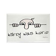 Kilroy Was Here Rectangle Magnet (10 pack)