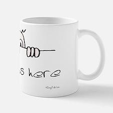 Kilroy Was Here Small Small Mug