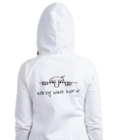 Kilroy Was Here Fitted Hoodie